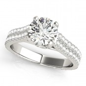 Pave engagement rings Bradenton